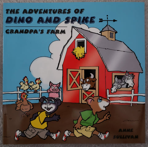 The Adventures of Dino and Spike Grandpa's Farm