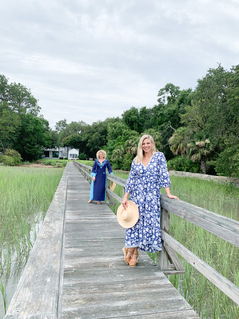 LA PLAGE effortless cotton clothing beaufort south carolina lowcountry dress