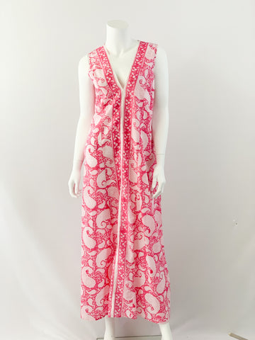 Dharma Dress - Bouganvillea Pink Paisley