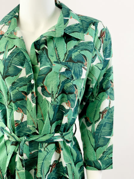 Laurel Shirtdress - Banana Leaf