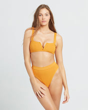 Load image into Gallery viewer, LSPACE Pointelle Orange Rib separates