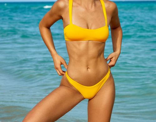 Sanori Swim Yellow San Marino Bikini separates