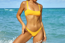 Load image into Gallery viewer, Sanori Swim Yellow San Marino Bikini separates