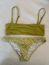 Load image into Gallery viewer, Rhythm green bandeau top