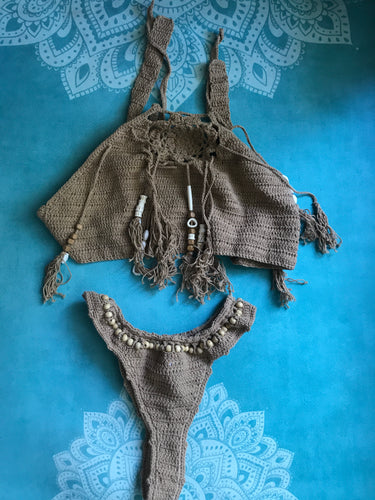 Andi Bagus beach native crochet separates