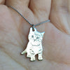 Your Own Cat Picture Necklace
