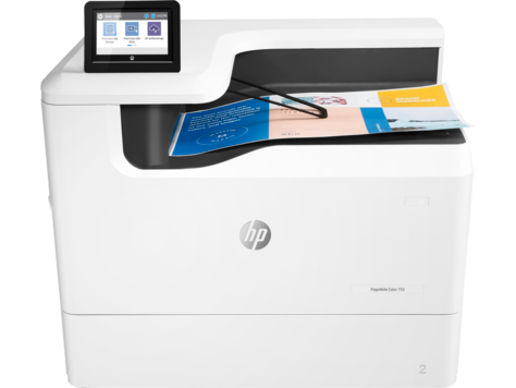 HP PageWide Color 755dn Printer
