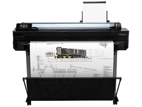 HP DesignJet T520 24-in Wide Format Color Inkjet