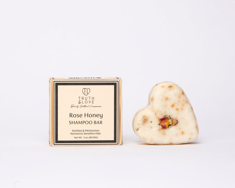 Rose Honey Shampoo Bar Monthly