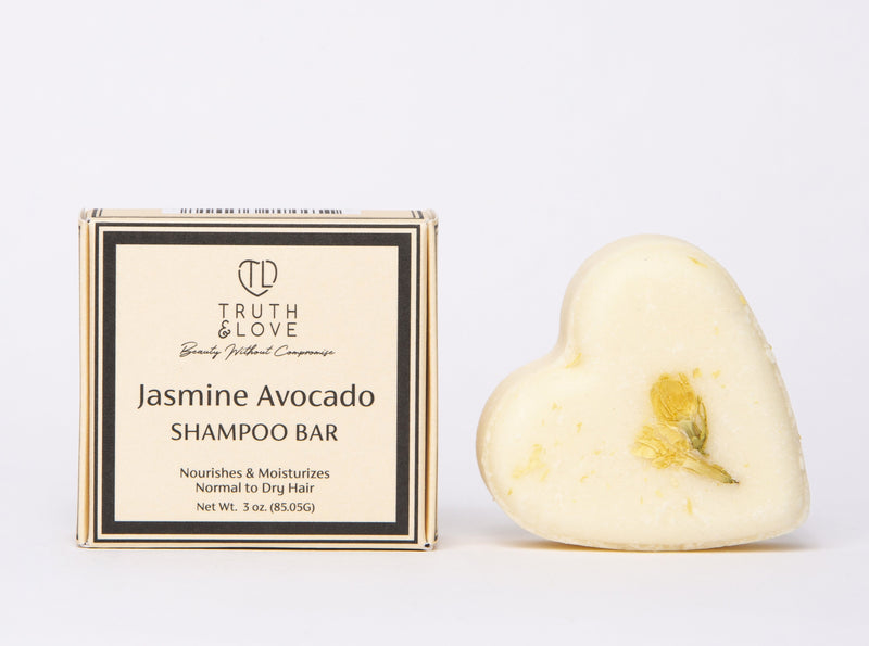Jasmine Avocado Shampoo Bar