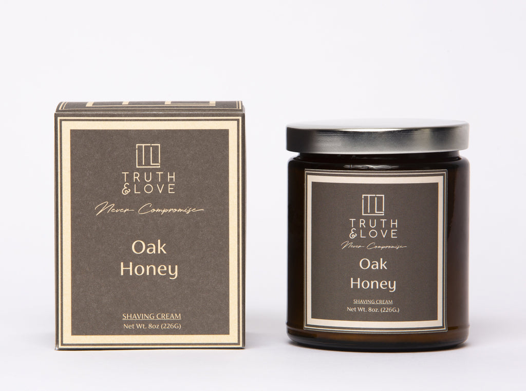 Oak Honey Shaving Cream