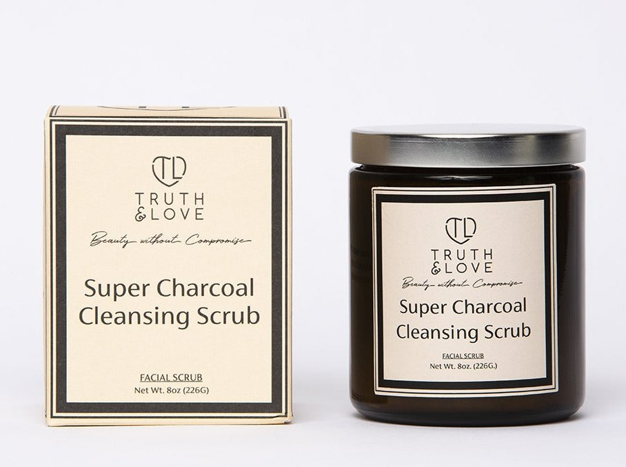 Super Charcoal Cleansing Scrub