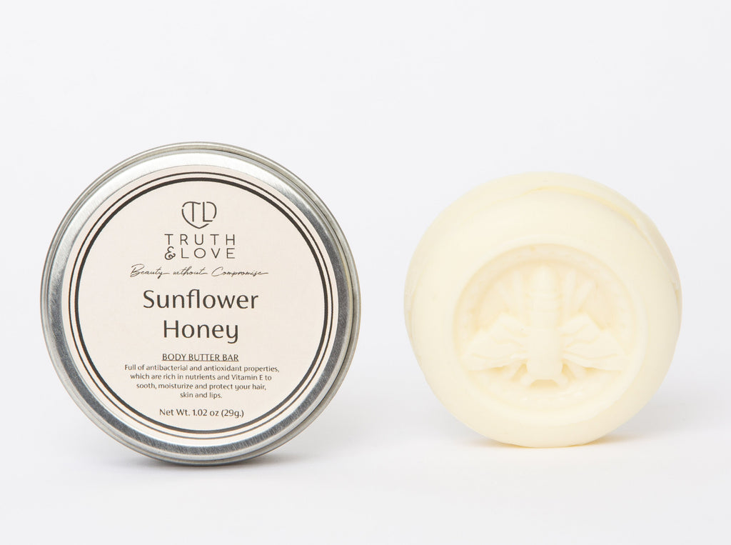 Sunflower Honey Body Butter Bar