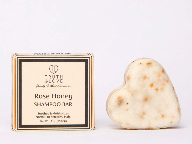 Rose Honey Shampoo Bar