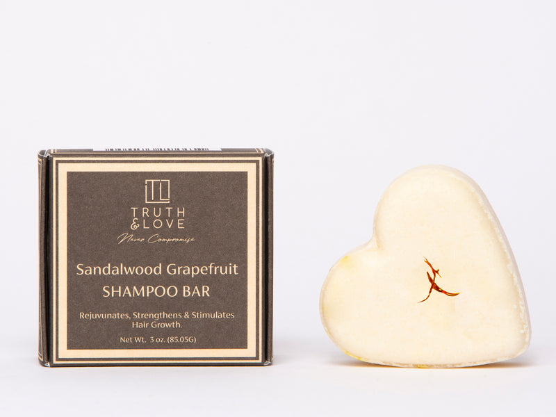 Sandalwood Grapefruit Shampoo Bar