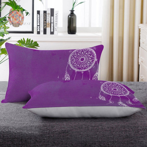 Bahaman Sea Purple Dreamcatcher Pillow Cases-Little Squiffy