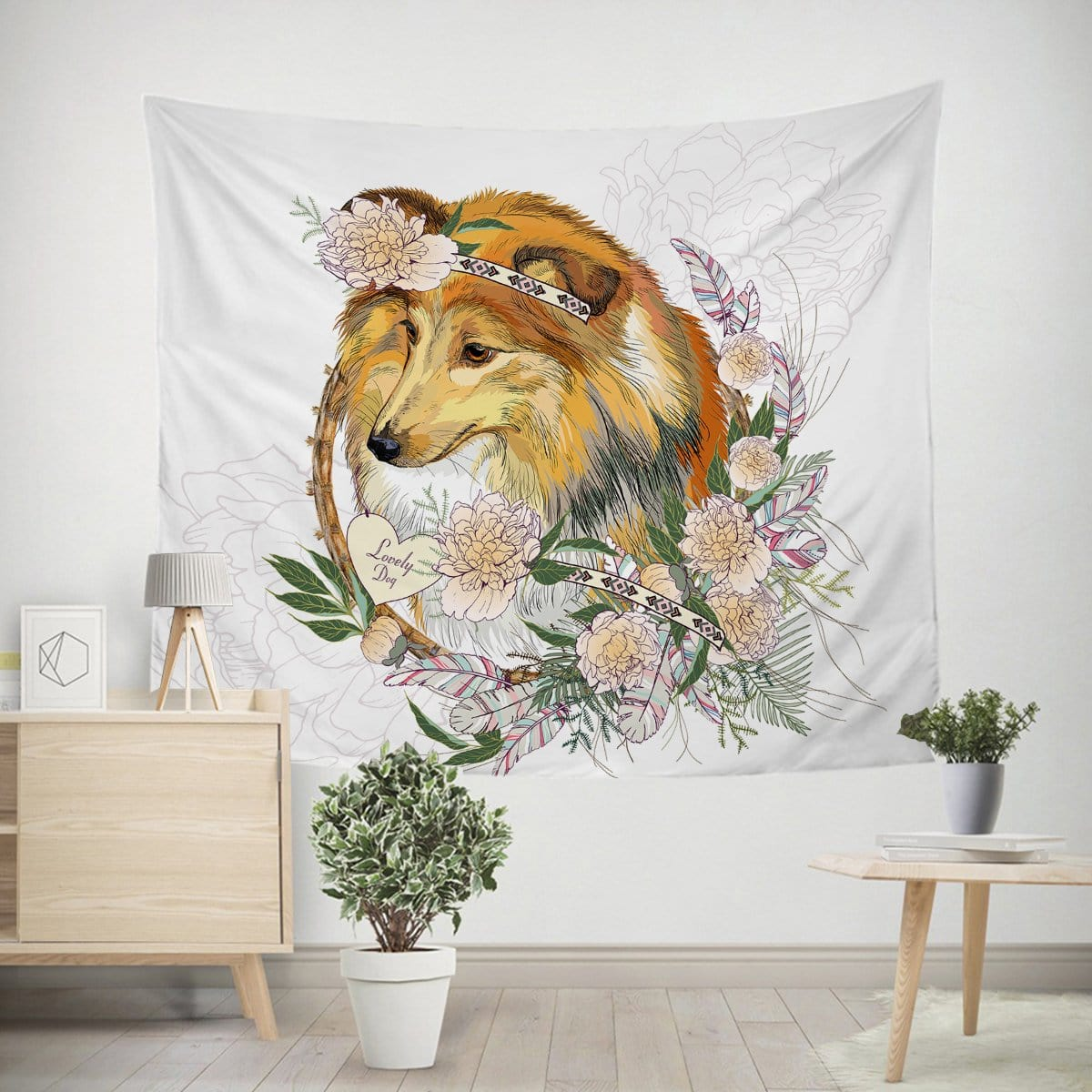 Lassie Collie Tapestry-Little Squiffy