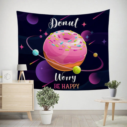 Donut Worry Tapestry-Little Squiffy