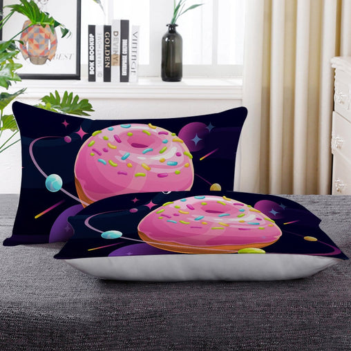 Donut Worry Pillow Cases-Little Squiffy