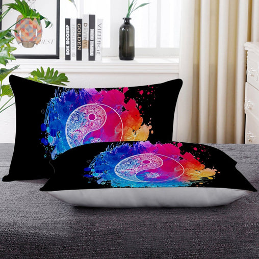Yin Yang - Balanced Pillow Cases-Little Squiffy