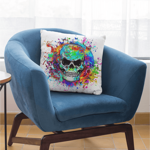 Skull Of Eternity Cushion Cover