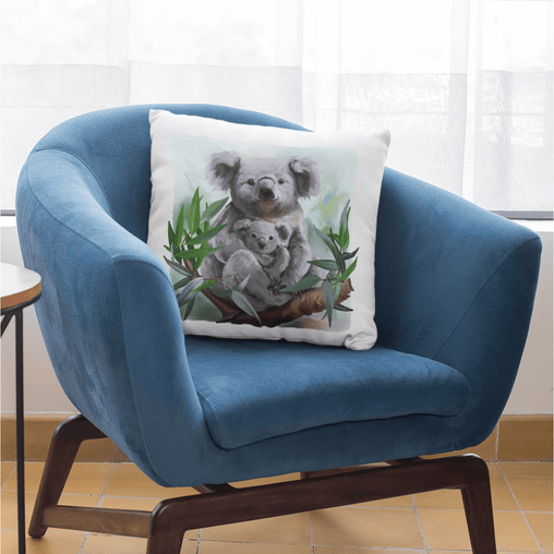 Aussie Koala Cushion Cover-Aussie Koala-Little Squiffy