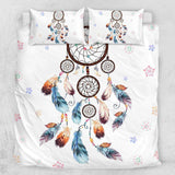 Boho Dreamcatcher Quilt Cover Set