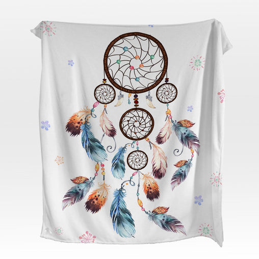 Boho Dreamcatcher Squiffy Minky Blanket-Boho Dreamcatcher-Little Squiffy