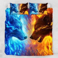 Fire and Ice Quilt Cover Set-Little Squiffy