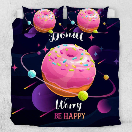 Donut Worry Quilt Cover Set-Little Squiffy