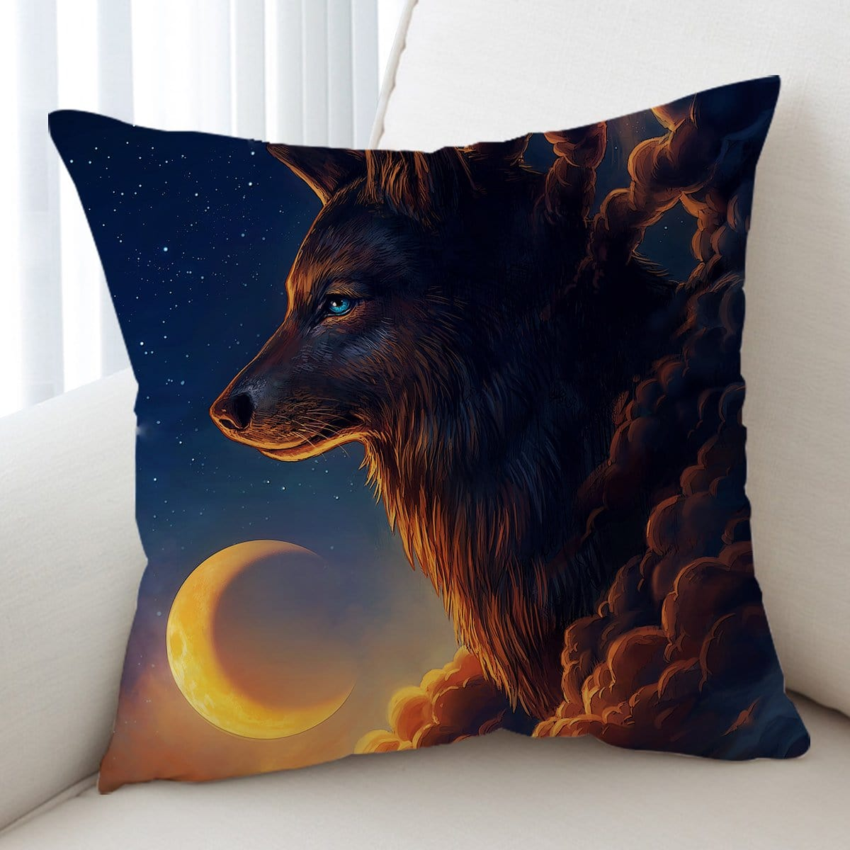 Night Guardian Cushion Cover