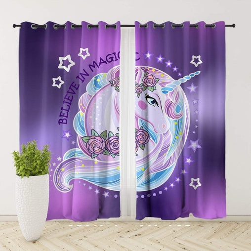 Unicorn Magic Curtain Set