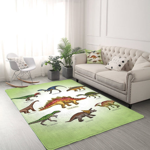 Cartoon Dinosaur's Rug-Little Squiffy