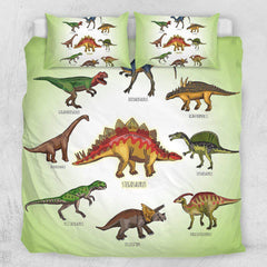 Cartoon Dinosaur's Quilt Cover Set
