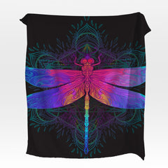 Dragonfly Squiffy Minky Blanket-Dragonfly-Little Squiffy