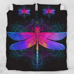 Dragonfly Quilt Cover Set