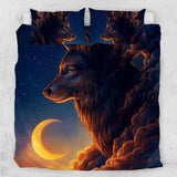 Night Guardian Quilt Cover Set