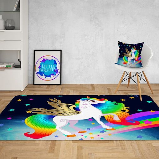 Rainbow Unicorn Mat