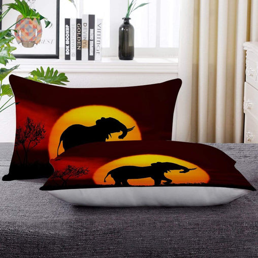 African Sunset Pillow Cases-Little Squiffy