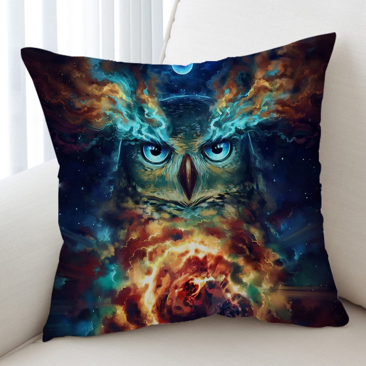 Night Nebowla Cushion Cover