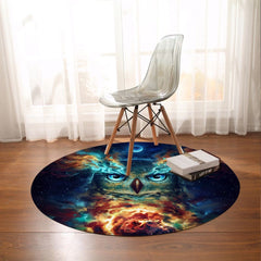 Night Nebowla Round Mat-Night Nebowla-Little Squiffy