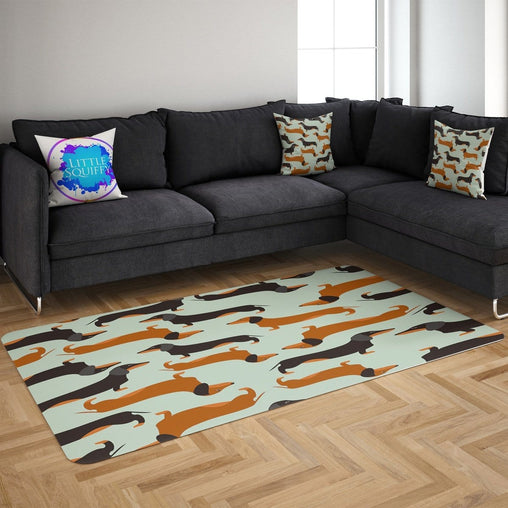 Cartoon Dachshund Mat