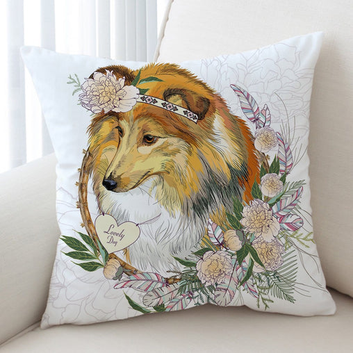 Lassie Collie Cushion Cover