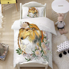 Lassie Collie Quilt Cover Set