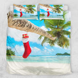 Summer Christmas Quilt Cover Set