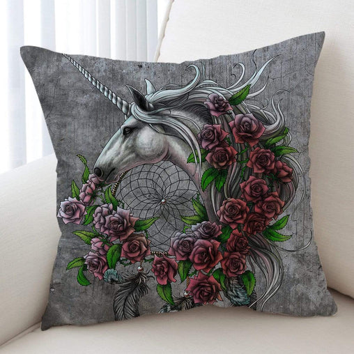 Rose Dreamcatcher Cushion Cover
