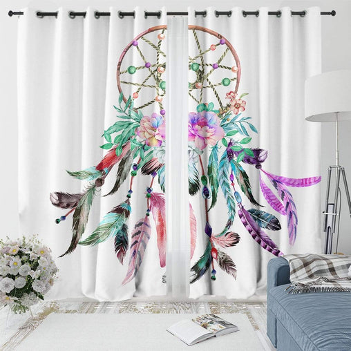 Bohemian Dreamcatcher Curtain Set