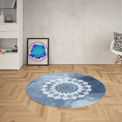 Atlantic Breeze Mandala Round Mat-Atlantic Breeze-Little Squiffy
