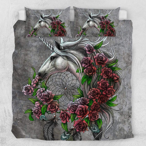 Rose Dreamcatcher Quilt Cover Set-Little Squiffy