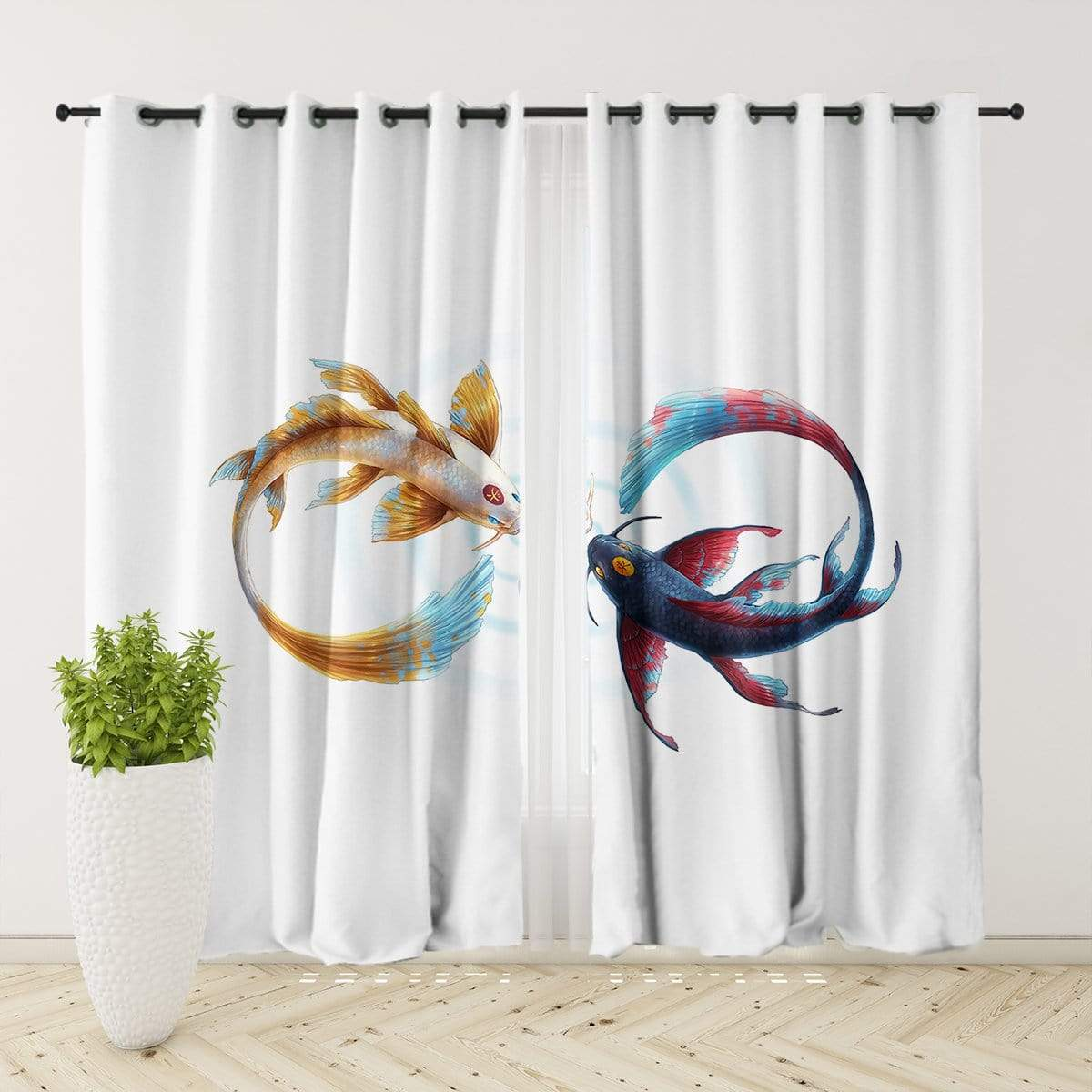 Eternal Bond Curtain Set